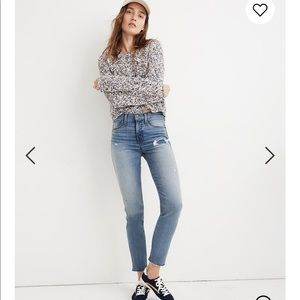 Madewell Stovepipe Jeans in Holburn Wash 25